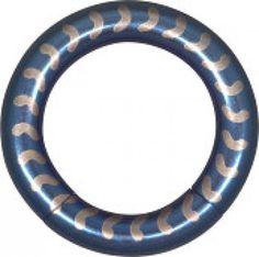 Elektra Blue Vertebra Smooth Segment Ring