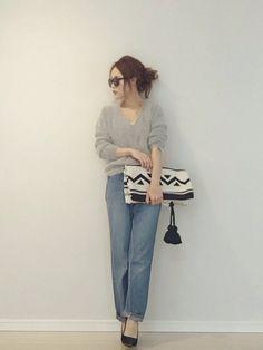 ママモデル田中亜希子さんに学ぶ♡春のコーディネート集 - Locari(ロカリ)