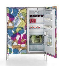 Mod Refrigerator- Can you believe this is laminate?    karim rashid for abet laminate - Google Search