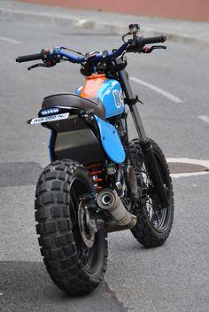 bikes motocross supercross enduro dirtbikes offroad harley g… – Motorcycles Honda Dominator, Honda Scrambler, Tw Yamaha, Scrambler Motorcycle, Tracker Motorcycle, Moto Bike, Girl Motorcycle, Motorcycle Travel, Ducati Custom