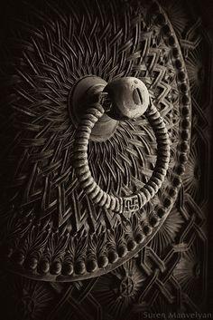 "old door, Yerevan, Armenia               Ye·re·van also E·re·van or E·ri·van    (ye'-ri-vän                                                                                                               Old Door, Yerevan, Armenia    ~   (ye'-ri-vän"")  The capital and largest city of Armenia south of Tbilisi, Georgia.  --  door pull  door knocker  misc"