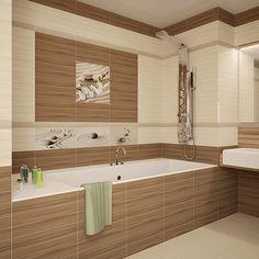 керамическая плитка  для ванной и кухни Уралкерамика Релакс