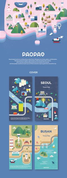 PaoPao Map on Behance