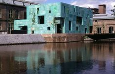 Steven Holl Architects. Amsterdam, The Netherlands. (Local architect: Rappange & Partners)1996 – 2000  Photographs: Paul Warchol