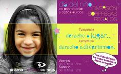 Día del Niño en Optica Durdos y Prisma color