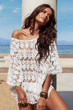 Melissa Odabash lace cover-up at www.cocoisabella.com