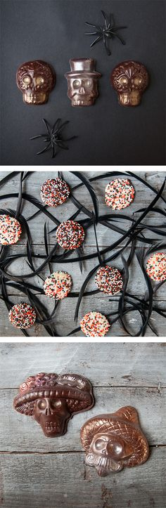 Premium chocolates to die for from Black Dinah Chocolatier. Get them now before Halloween passes Halloween Chocolate, Chocolate Treats, Trick Or Treat, Chocolates, Delicious Desserts, Halloween Decorations, Sweet Treats, Hair Accessories, Sweets