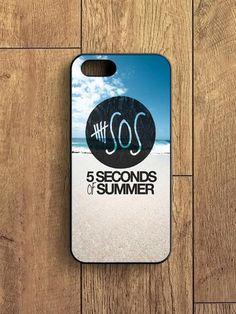 5 Second Of Summer Beach iPhone 5S Case