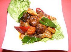 豚肉風料理のレシピ | 国立市の通販も利用できる台湾料理店「中一素食店」