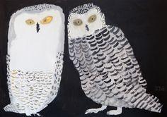 Owls by Japanese illustrator Miroco Machiko