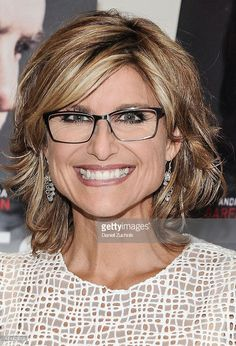 Ashleigh Banfield attends at the Homes' New York Screening at Celeste Bartos Theater at the Museum of Modern Art on August 2015 in New York City. Mom Hairstyles, Modern Hairstyles, Pretty Hairstyles, Hair Styles 2016, Short Hair Styles, Ashleigh Banfield, Pinterest Haircuts, Haircut And Color, Hair Affair