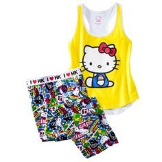 Hello Kitty Juniors' PJ Set - Assorted Colors