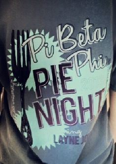 Pi Beta Phi pie night! #piphi #pibetaphi (MS Gamma)