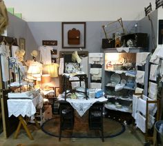 Vintage Treasures Antiques in Frisco Mercantile...Space 711...vintage linens, all things VINTAGE