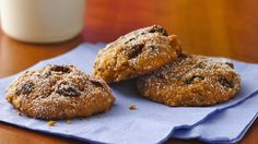 Betty Crocker® Gluten Free chocolate chip cookie mix, pumpkin and a pinch of spice bake into yummy homemade cookies.