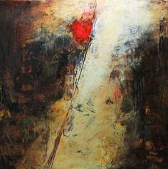 """Ambiance Italiano"" Oil/Cold Wax Lisa B. Boardwine"