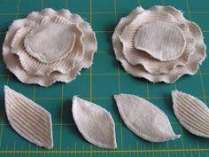 Tea Rose Home: Tutorial ~ Corduroy Skirt for Little Girl ~