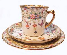 Upcycled Vintage Teacup And Saucer