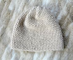 Easy Knit Slouch Hat Pattern