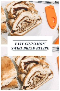 easy cinnamon swirl bread recipe / fluffy, soft cinnamon bread recipe homemade