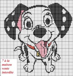 Disney Cross Stitch Patterns, Cross Stitch For Kids, Cross Stitch Cards, Cross Stitch Designs, Cross Stitching, Disney Mural, Perler Bead Disney, Minnie Baby, Animal Quilts