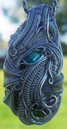 ©SoulLegit #wirewrap #jewelry #wirewrapjewelry
