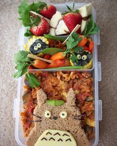 Totoro Bento Box Keith would love this