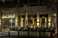 Al Hallab Bab El Bahr Front Facade at Downtown Dubai, Dubai-UAE | By TAO Designs LLC | #InteriorDesign #HospitalityDesign #HospitalityInterior #HotelInterior #BarInterior #ClubDesign #RestaurantDesign #RestaurantInterior #LuxuryInterior #ElegantInterior