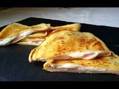 Crepes de jamón y queso light (especial dietas) - Anna Recetas Fáciles