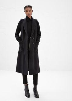 Rachel Comey Memento Coat (Black)