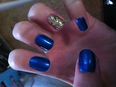 Warrior nails #godubs