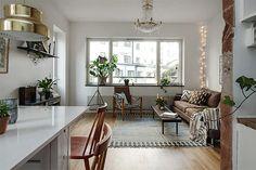 Apartamento pequeno e funcional
