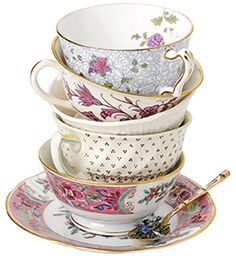 For the love of Teacups…and a strange fortune telling cup and saucer :) | Shabby Tree Cottage
