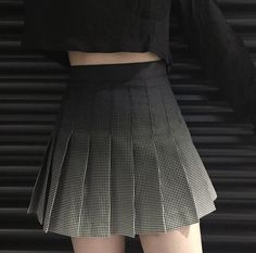 Black Grey Gradient Pleated Skirt sold by freevalley. Shop more products from freevalley on Storenvy, the home of independent small businesses all over the world.