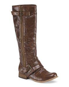 Hart High Shaft Buckled Boots