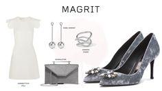 #Magrit Integramos nuestro zapato joya CAROLINA con #Swarosvki Crystals en terciopelo gris, en un look ideal para eventos de día o de noche. #GiambattistaVali#IsabelMarant#M2Malletier#JenniferFisher  LINK WEB:  http://www.magrit.es/es-ES/carolina-gris-538