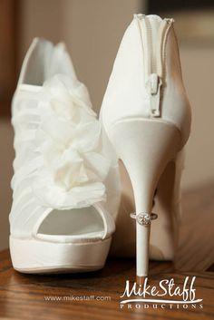 #wedding shoes #bride