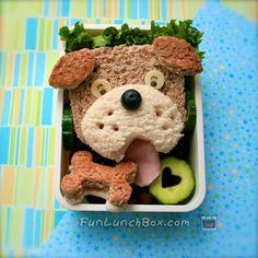 doggy sandwich by funlunchbox, via Flickr