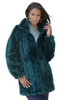 77280461679eb 36 Best Faux fur coats images