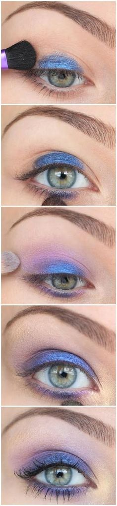 #smokey #blue #eyes #tutorial - for more #beauty #look, MyBeautyCompare Pinterest #diy #homemade #makeup #eyes #define #shape #easy #stepbystep #simple #face #trim