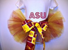 ASU Tutu  Arizona State University SunDevils  by pinkiepetunia, $20.00 Custom made to order