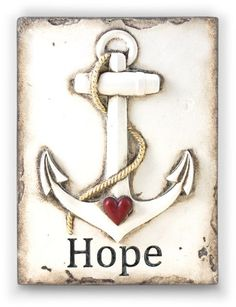 Hope tile by artist Sid Dickens out of Vancouver Canada. Memory Blocks are hand crafted plaster, finished to a porcelain-like quality, cracked to create an aged look and feel.