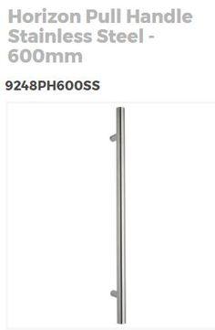 Horizon pull handle