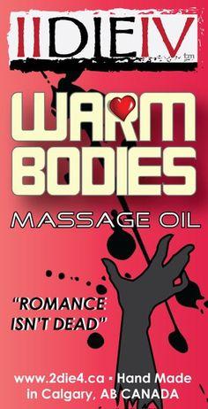 Warm Bodies Massage Oil