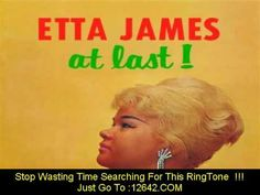 """Etta James...""""At Last""""----Classic R & B From The Little Lady With The Perfect Voice!!"""