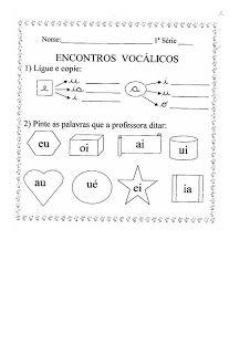 Profª Marcela Atividades Encontros Vocalicos 2 Encontro