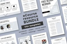 eCourse Resource Bundle by Love Plus Color on @creativemarket