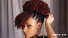 cheveux naturels éclaircissants – All About Hairstyles Cabello Afro Natural, Pelo Natural, Natural Hair Updo, Natural Hair Styles, 4c Natural Hairstyles, Black Girls Hairstyles, Afro Hairstyles, Long Hair Tips, Natural Hair Tutorials