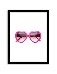 Download and print this free printable Heart Sunglasses Watercolor wall art for your home or office! Directions: Unlock the files. Once you unlock the files (by sharing, liking, following), the download buttons will appear. Click the download button below to download the PDF file. Press print. PERMITTED USE: This file is for personal use only. If...