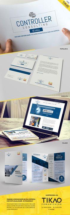 Conheça o case de reformulação da Identidade Visual da Controller Consulting. Tikao Comunicação - Surpreenda-se.